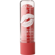 Sante Smooth Color Kiss Szinezett ajakbalzsam - soft red, BSA-43249