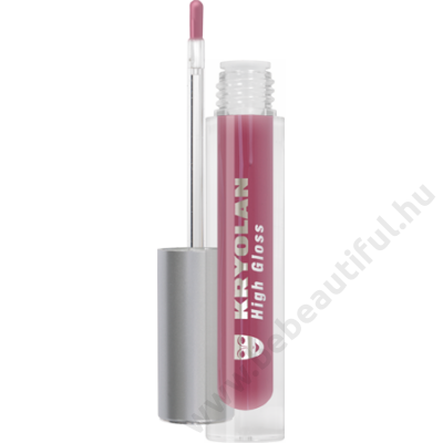 Kryolan High Gloss ecsetes szájfény 4 ml, 5214/Kir